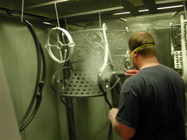 Powder coating, custom powder coating services